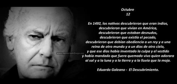 Eduardo Galeano 12 de Octubre, el descubrimiento.jpg